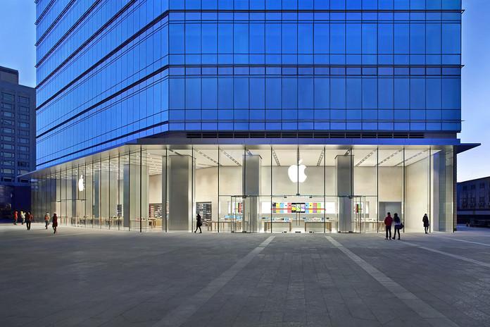 北京华贸购物中心苹果直营店电话、地址及营业时间