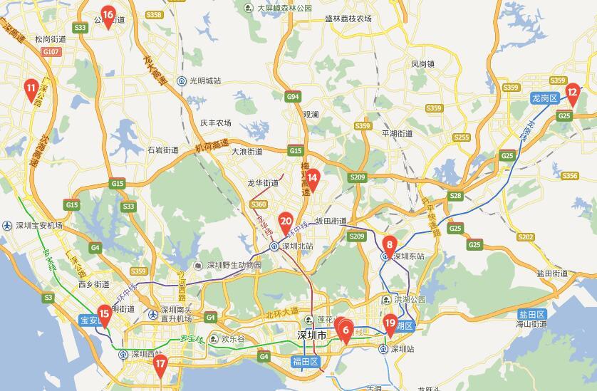 深圳华为手机维修售后服务点地址、电话及营业时间