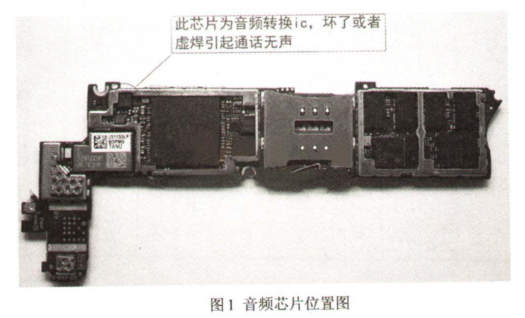 iPhone 4打电话听不到声音故障维修教程